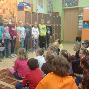 Przedszkolaki na zajęciach otwartych