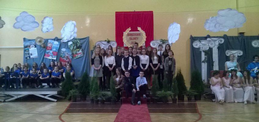 """""""Dobrzeński Talent""""- uhonorowano naszych uczniów"""