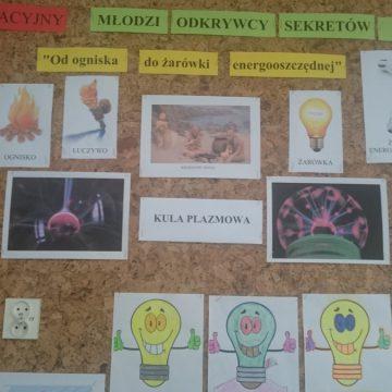 Projekt edukacyjny Młodzi Odkrywcy Sekretów Nauki kl.IIIa