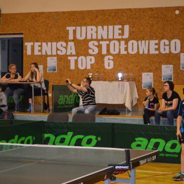 Turniej Tenisa Stołowego TOP 6
