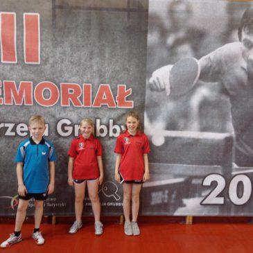 Tenis stołowy – XII Memoriał Andrzeja Grubby