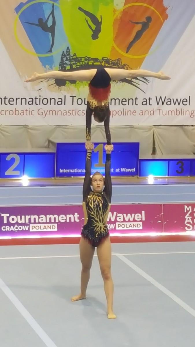 Laura Piekorz  na Międzynarodowym Turnieju