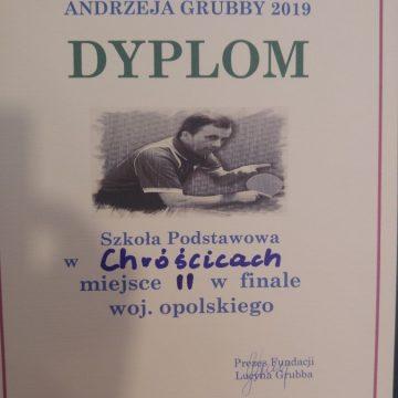 II Miejsce w Województwie w Memoriale Andrzeja Grubby