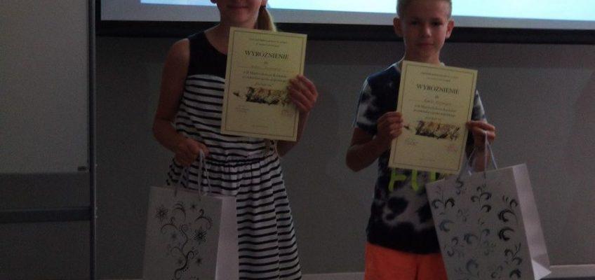 Wyróżnieni w konkursie recytatorskim języka angielskiego
