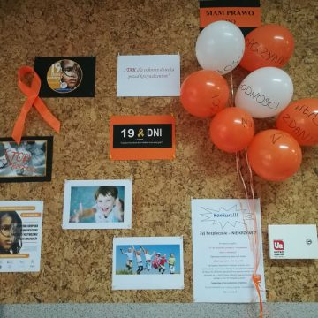 """Kampania """"19 dni przeciwko przemocy i krzywdzeniu dzieci i młodzieży"""""""