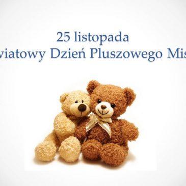 Konkurs z okazji Dnia Pluszowego Misia!