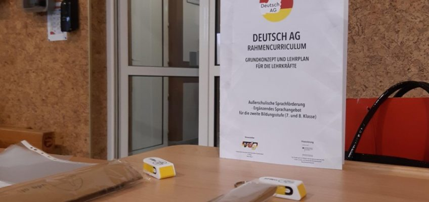 """Zakończenie projektu niemieckojęzycznego """"Deutsch AG"""""""