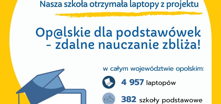 """""""Op@lskie dla podstawówek – zdalne nauczanie zbliża!"""""""