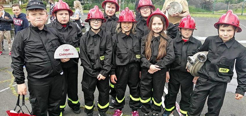 Jak strażacy z Chróścic pożar gasili…