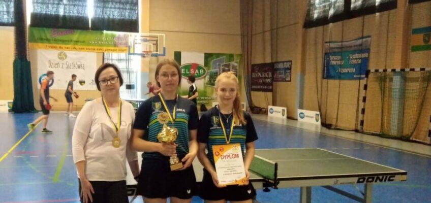 I miejsce dla naszych uczennic w Drużynowych Mistrzostwach Województwa w Tenisie Stołowym  – Igrzyskach Młodzieży Szkolnej