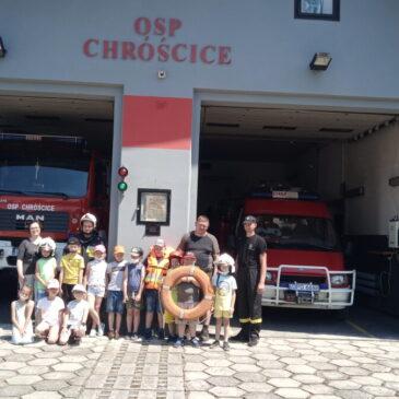 W gościnie u strażaków