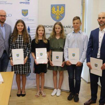 Gratulujemy naszym uczniom nominacji do kadry sportowej województwa opolskiego